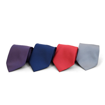 Pin Dot Microfiber Poly Woven Tie - MPW5828