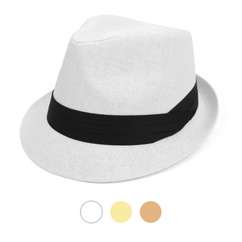 Spring/Summer Classic Style Fashion Trilby Fedora Hats with Black Band FSS17124