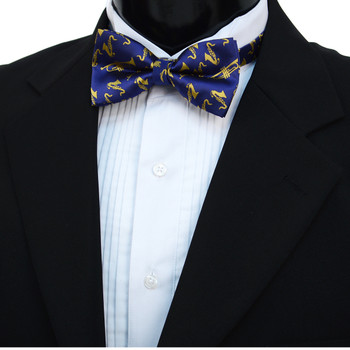 Men's Brass Instruments Banded Bow Tie