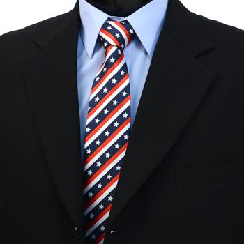 U.S. Flag Novelty Tie NV10039