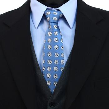 Dice Pattern Novelty Tie