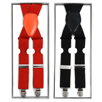 Men's Boxed Clip-on Suspenders CS1301B