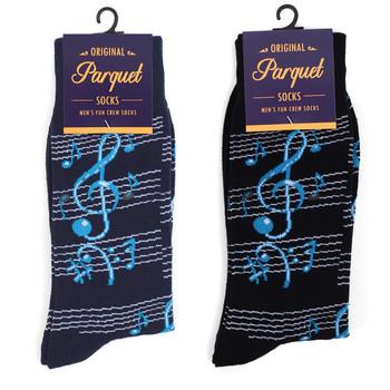 Men's Music Notes Novelty Socks NVS1733