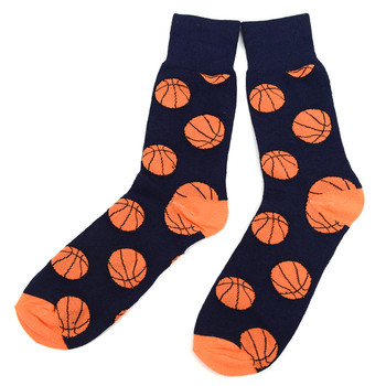 12pairs Men's Basketball Novelty Socks NVS1736