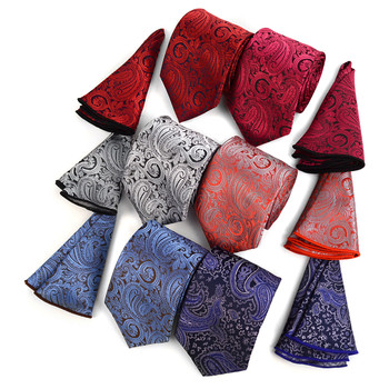 Paisley Tie & Matching Pocket Round Set MPWTH170336