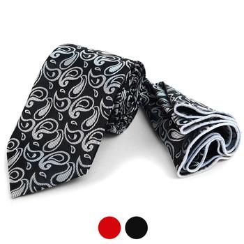 Paisley Tie & Matching Pocket Round Set MPWTH170334