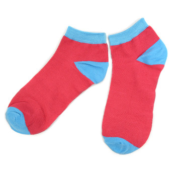 Assorted Pack (6 pairs) Women's Multicolor Low Cut Socks LN6S-611