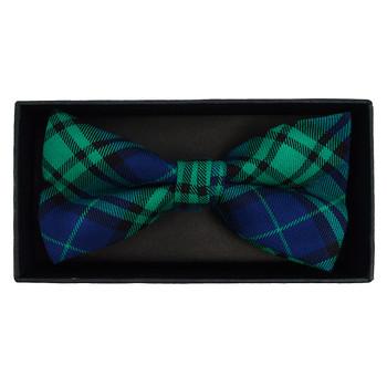 Men's  Plaid Flannel Cotton Banded Bow Tie NFB1639