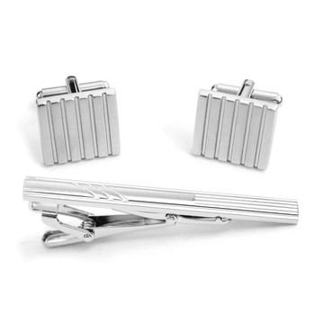 Cufflink and Tie Bar Set CTB2543