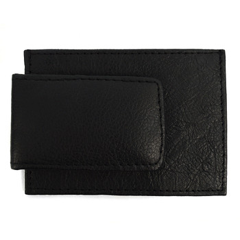Genuine Leather Money Clip with Front Pocket MC-2092