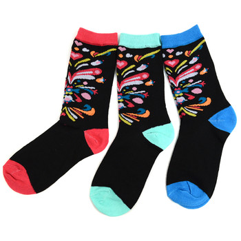 4-Packs (3 pairs/pack) Women's Centerpiece Novelty Socks 3PKSWCS-658