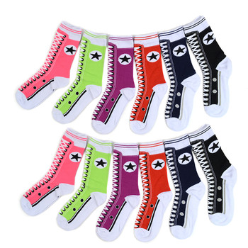 4-Packs (3 pairs/pack) Women's Sneaker Shoes Novelty Socks 3PKSWCS-701
