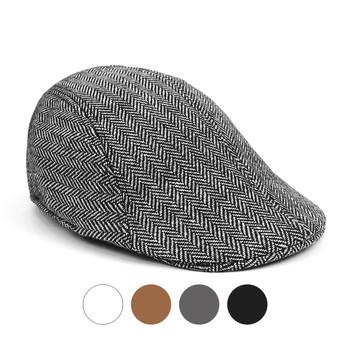 Fall/Winter Herringbone Ivy Hat - IFW1727