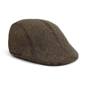 Fall/Winter Herringbone Ivy Hat - IFW1727