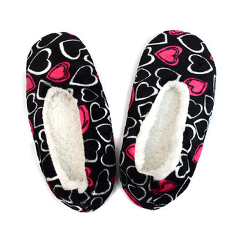 Women's Heart Warm & Cozy Indoor Non Slip Grip Slipper WFWS2721