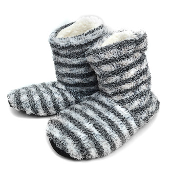 Women's Warm & Cozy Indoor Non Slip Grip Slipper Bootie WFWB1710
