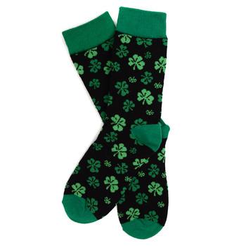 12pairs Women's Clover Pattern Novelty Socks LNVS1740
