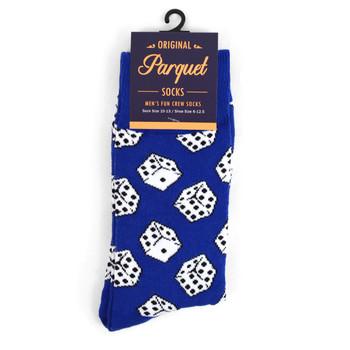 12pairs Men's Dice Novelty Socks NVS1754-55