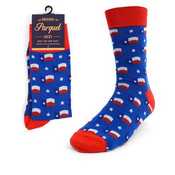 Men's Texas Flag Novelty Socks NVS1764