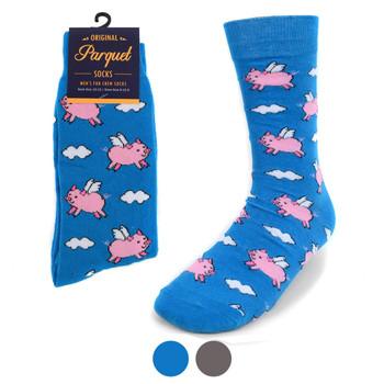 Men's Flying Pig Novelty Socks NVS1772-73