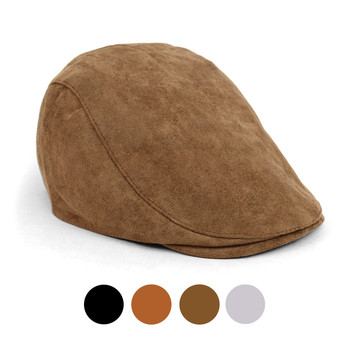 Fall/Winter Faux Suede Ivy Hat - IFW1722