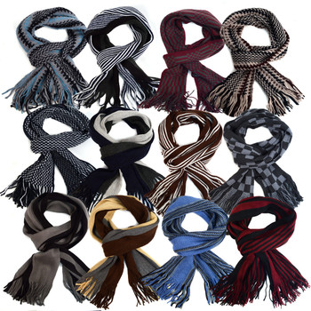 36pc Assorted Pack 100% Acrylic Scottish Scarf - AKS36ASST