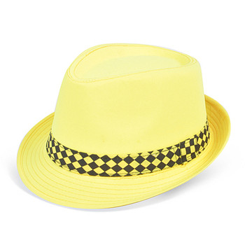 120pc Mixed Unisex Neon Fedora Hats HNEON-CO