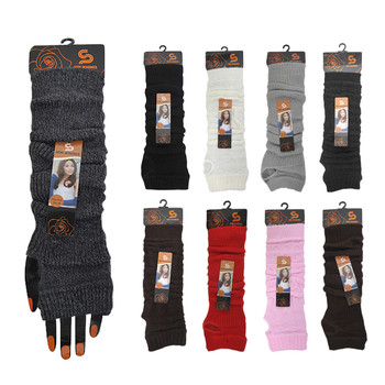 144pc Assorted  Fall/Winter Arm Warmers  AWASST-CO