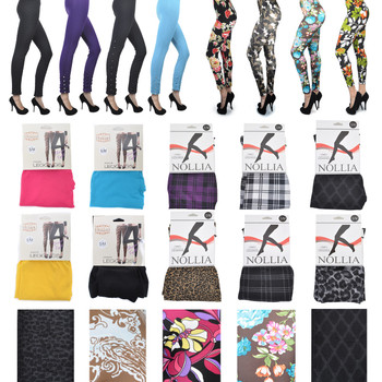 120pc Mixed Style Women's Leggings LG120ASST-CO