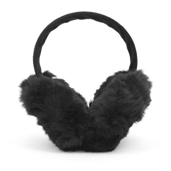 12pc Black Ear Warmers EM1214