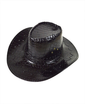 "6pc 3.5"" Brim Cowboy Hat H9346"