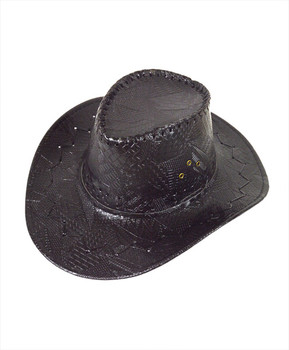 "6pc 3.5"" Brim Cowboy Hat H9345"