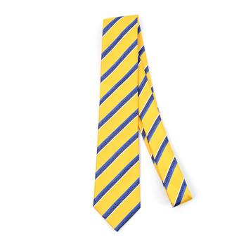 Striped Microfiber Poly Woven Tie - MPW5903