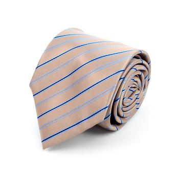 Striped Microfiber Poly Woven Tie - MPW5905
