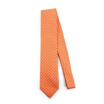 Dots Microfiber Poly Woven Tie - MPW5907