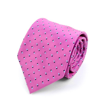Dots Microfiber Poly Woven Tie - MPW5907