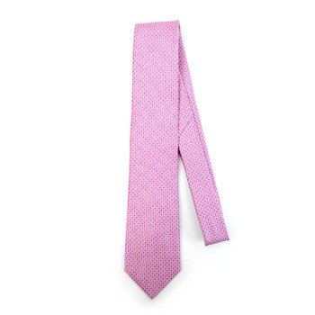 Geometric Microfiber Poly Woven Tie - MPW5909
