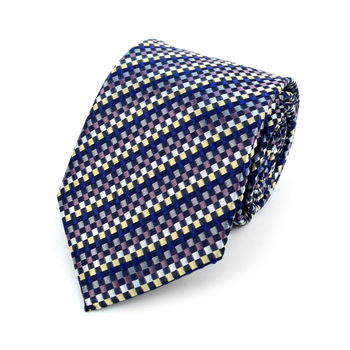 Dots Microfiber Poly Woven Tie - MPW5914