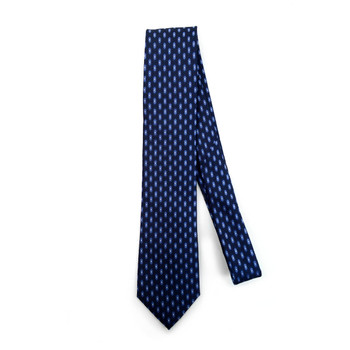Geometric Microfiber Poly Woven Tie - MPW5915