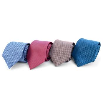 Dots Microfiber Poly Woven Tie - MPW5920