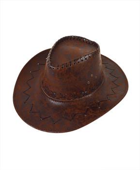 """3.5"""" Brim Cowboy Hat H9313"""