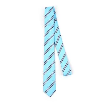 "Striped Microfiber Poly Woven 2.25"" Slim Tie - MPWS5901"
