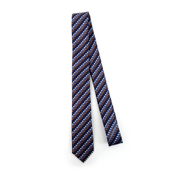 "Dots Microfiber Poly Woven 2.25"" Slim Tie - MPWS5914"
