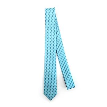 "Geometric Microfiber Poly Woven 2.25"" Slim Tie - MPWS5915"