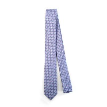"Geometric  Microfiber Poly Woven 2.25"" Slim Tie - MPWS5917"