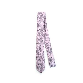 "Paisley Microfiber Poly Woven 2.25"" Slim Tie - MPWS5919"