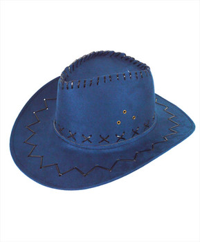 "6pc Pack 3.5"" Brim Cowboy Hat H9310"