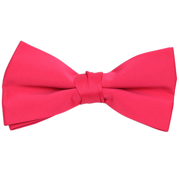Boxed Boy's Poly Satin Clip On Bow Ties - BBC1701BX