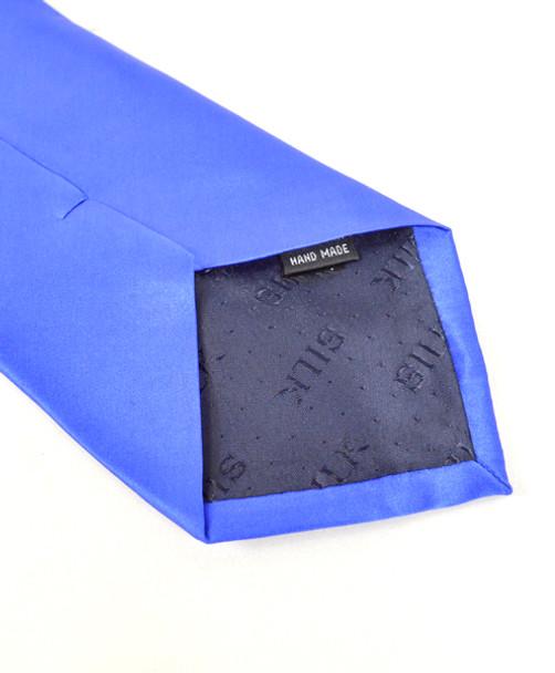 Silk Solid Zipper Tie SSZ1301