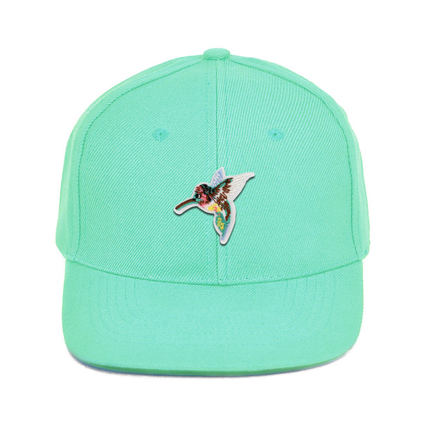 Patched Promotional Solid Blank Baseball Cap - CAP1P
